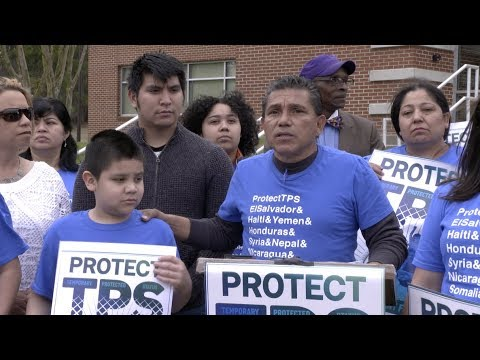 TPS Holders and Their Children File Suit Against Trump Administration