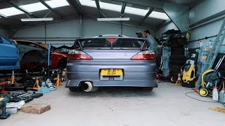First day working on the Nissan Silvia S15