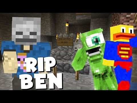 BEN IS DEAD lol - Vanilla Minecraft Ep. 14