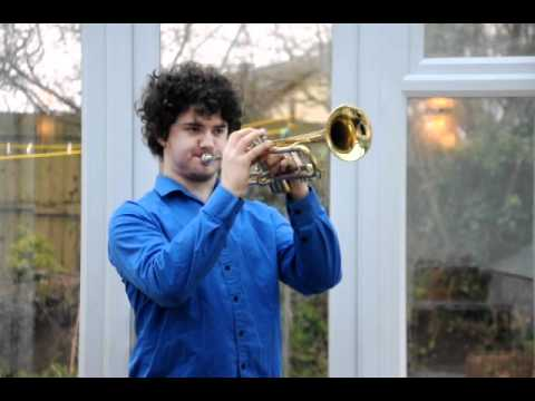 The Last Post & dedication by Carl Woodison on Trumpet