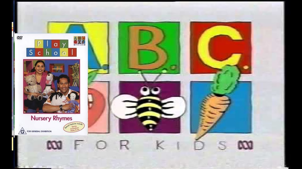 Opening To Play School Nursery Rhymes 2003 Dvd Australia