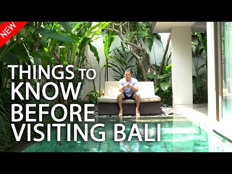Things to know before visiting Bali