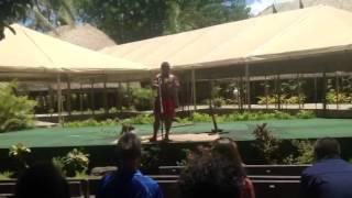 Samoa Island Presentation at Polynesian Cultural Center, Ho