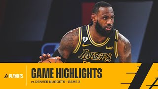 HIGHLIGHTS | LeBron James (26 pts & 11 reb) vs Denver Nuggets