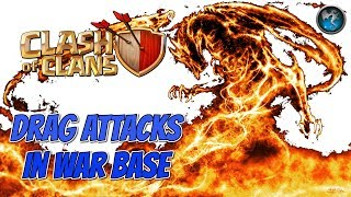 Live war attacks with dragons | Drag attacks clash of clans | clash of clans | Gaming wit roy