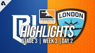 Boston Uprising vs London Spitfire | Overwatch League Highlights OWL Stage 3 Week 3 Day 2