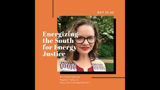 Energizing the South for Energy Justice Rev Sarah Ogletree