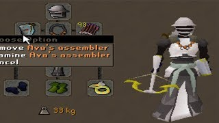 99 Ranged Pking with new Ava's Assembler