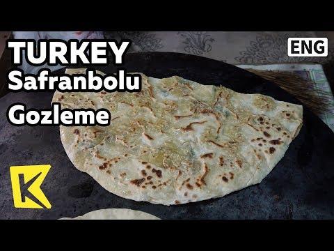 【K】Turkey Travel-Safranbolu[터키 여행-샤프란볼루]터키식 부침 괴즐레메/UNESCO/Ottoman/Gozleme/Pancake