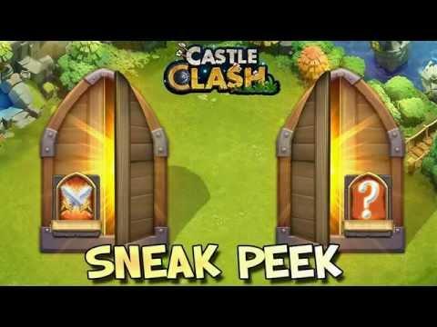 Castle Clash #95 - Sneak Peek Mod-Erweiterung! [720p]