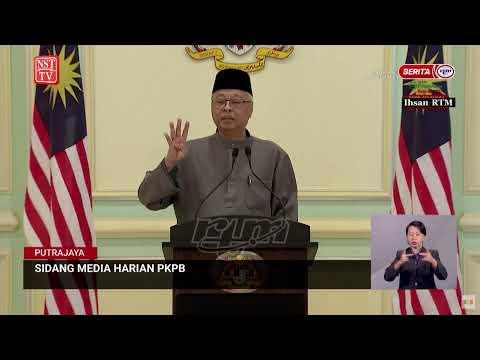[LIVE] Sidang media Menteri Kanan (Keselamatan) berhubung pelaksanaan (PKPB)