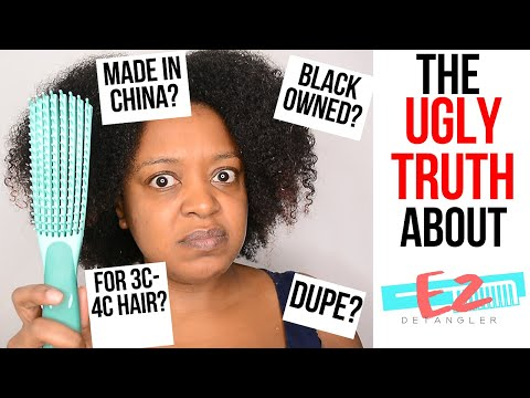The Ugly TRUTH About The EZ Detangler Brush