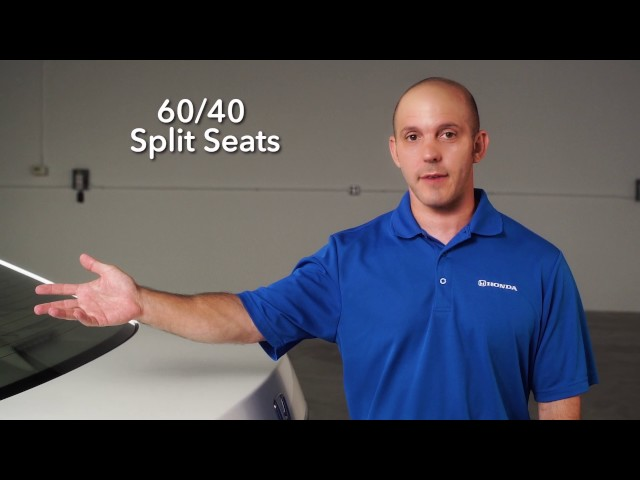 2017 Honda Accord Tips & Tricks: Split Seats