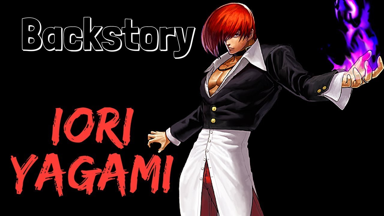 backstory iori yagami the king of fighters youtube