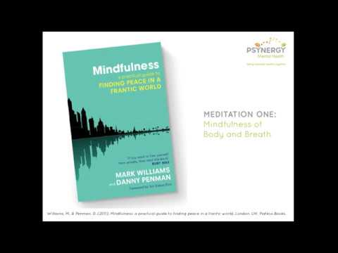 Meditation 1: Mindfulness of body and breath