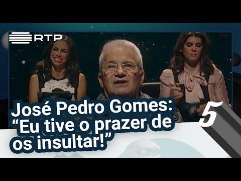 """José Pedro Gomes: """"Eu tive o prazer de os insultar!"""" - 5 Para a Meia-Noite"""