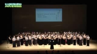 新曲の発表イベントで、松山女声合唱団の皆さんが『春や昔』を歌ってく...