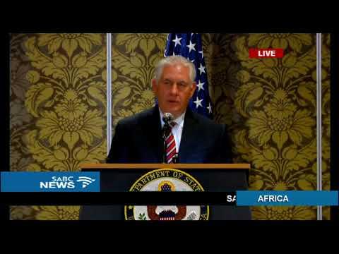U.S. Secretary Rex Tillerson visits Kenya