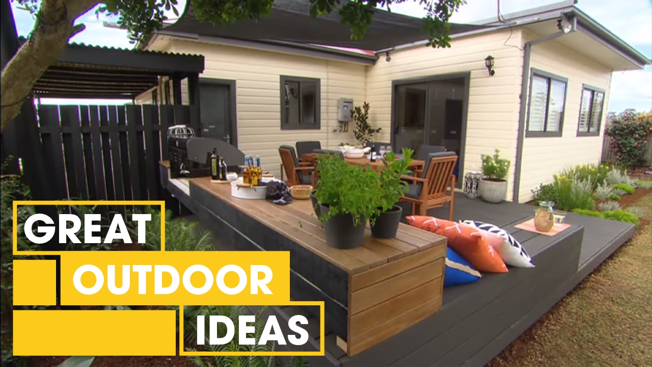 Build An Amazing Entertaining Area | Outdoor | Great Home ... on Garden Entertainment Area Ideas id=16167