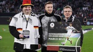Marco Reus als Nationalspieler des Jahres geehrt