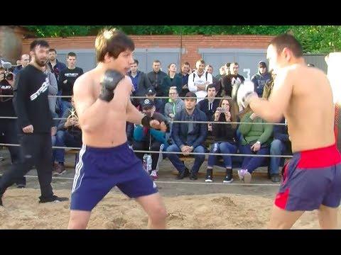 Пробивное колено против Якутского Бойца