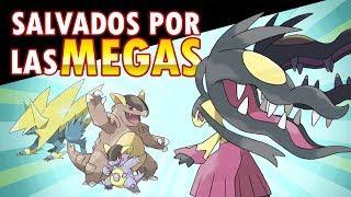 TOP 7 POKÉMON SALVADOS POR LAS MEGA-EVOLUCIONES