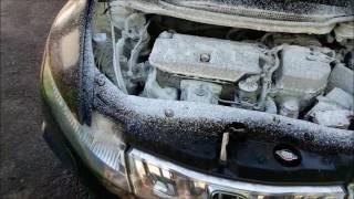 Honda civic 5D - мойка подкапотного и кузова керхером!