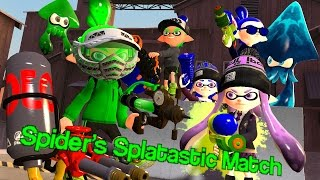 [Splatoon GMOD] Spider's Splatastic Match