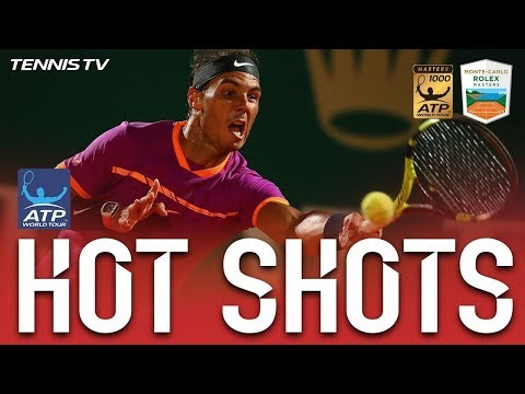 Hot Shot: Nadal Lands Winner From Impossible Angle At Monte-Carlo 2017