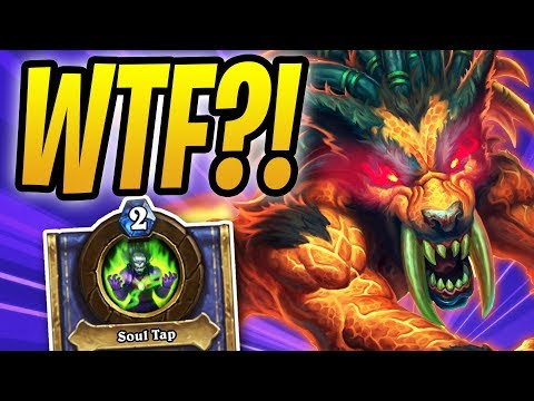 WINNING with AUTO COMPLETED DECKS?! | Odd Warlock | Rastakhan's Rumble | Hearthstone