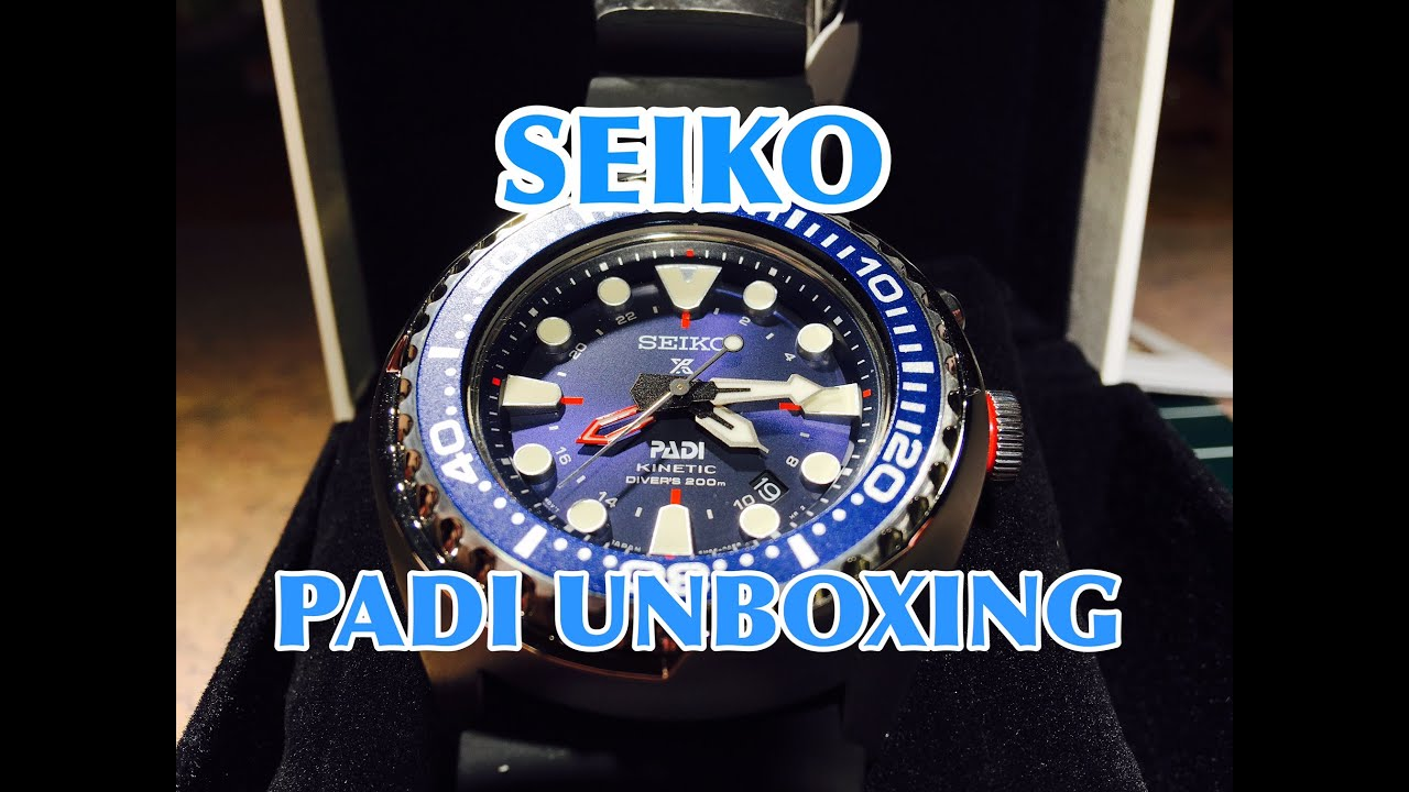 Seiko Padi Special Edition Diver Unboxing Sun065 Youtube