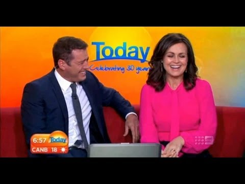 Today Show Funny Bits Part 32. Wilkinson