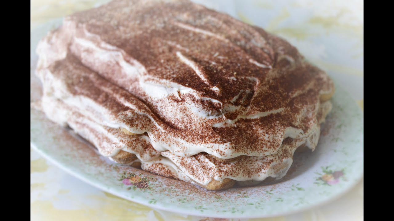 рецепт простого десерта тирамису