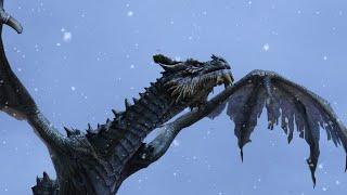 Скайрим мод: Превращение в дракона!