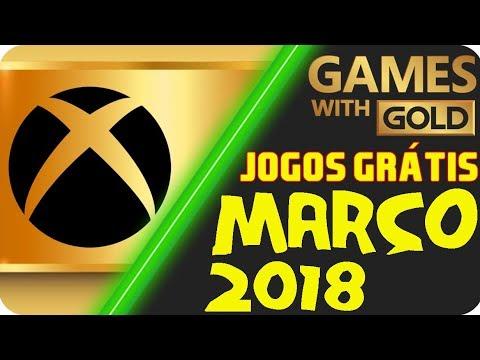 OFICIAL - Jogos Grátis Xbox LIVE Gold MARÇO 2018