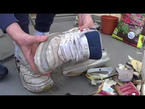 what to do with some really old nike air max? :-) part 1