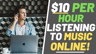 Earn Money Listening to Music | Earn $10 Per Hour Listening To Music
