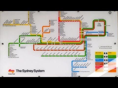 Sydney Trains Vlog 1040: Old State Rail Map