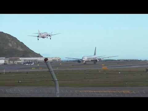 BAe Jetstream 32 | Lifeflight | Takeoff | Wellington Airport