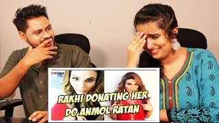Indian Reaction On RAKHI SAWANT DONATING HER DO ANMOL RATAN ¦ AWESAMO SPEAKS | Krishna Views