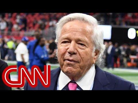 Patriots owner Robert Kraft accused of soliciting sex