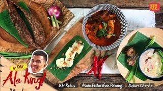Iftar Ala King Naim Daniel - Asam Pedas & Bubur Chacha Ubi Kayu