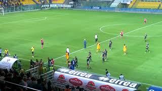 Coppa Italia, Parma-Pisa 0-1 (parziale p.t.) ~ Rientro spogliatoi