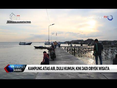 Kampung Atas Air Di Balikpapan Dulu Kumuh Kini Jadi Objek Wisata
