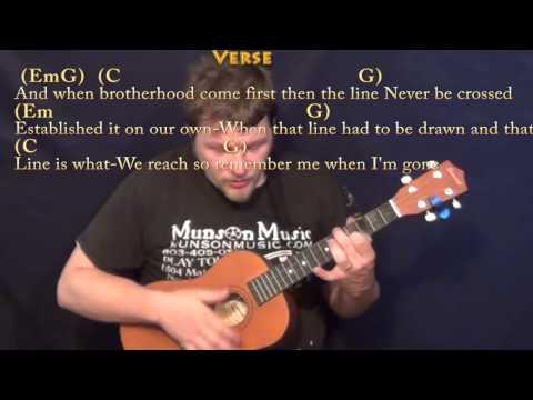 Guitar guitar chords see you again : See You Again (Wiz Khalifa) Baritone Ukulele Cover Lesson with ...
