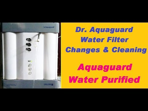 Dr.Aquaguard Filter Changes Inside || water filter changes | uv water filter change