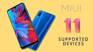 MIUI 11 Supported Device List | MIUI 11 Release Date & Features