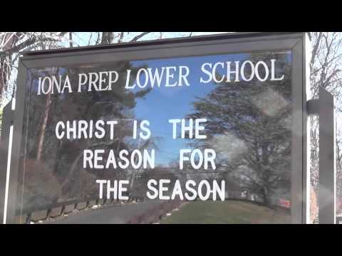 Merry Christmas from Iona Preparatory School K-12