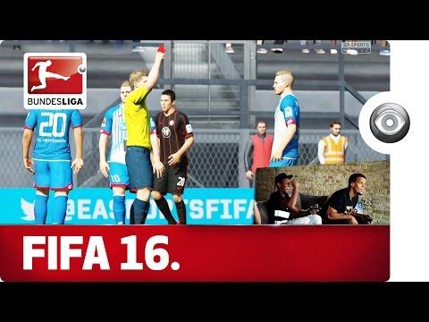 Hoffenheim vs. Frankfurt - FIFA 16 Player Match with EA SPORTS
