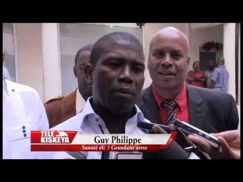 Arrestation de Guy Philippe: Propos du Sénateur élu après la remise de son certificat au CEP